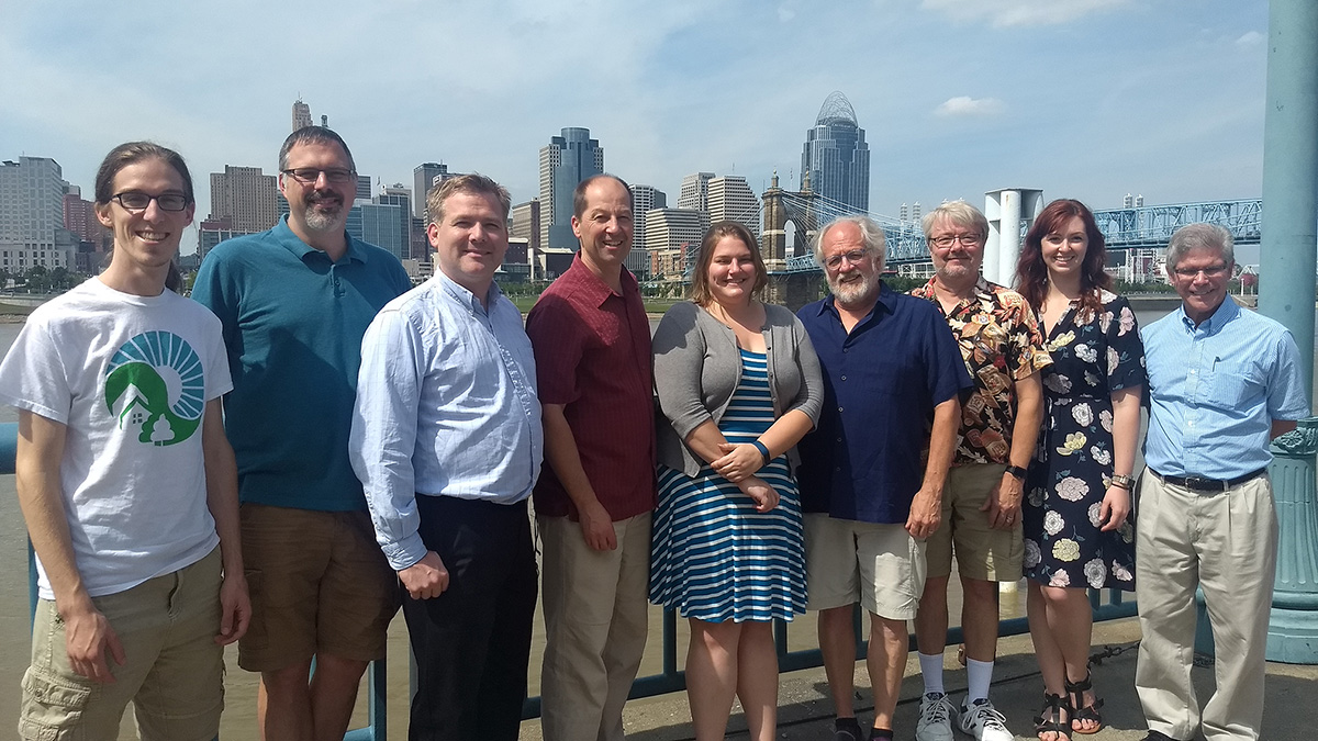 The PER group in Cincinnati, OH at AAPT meeting, 2017