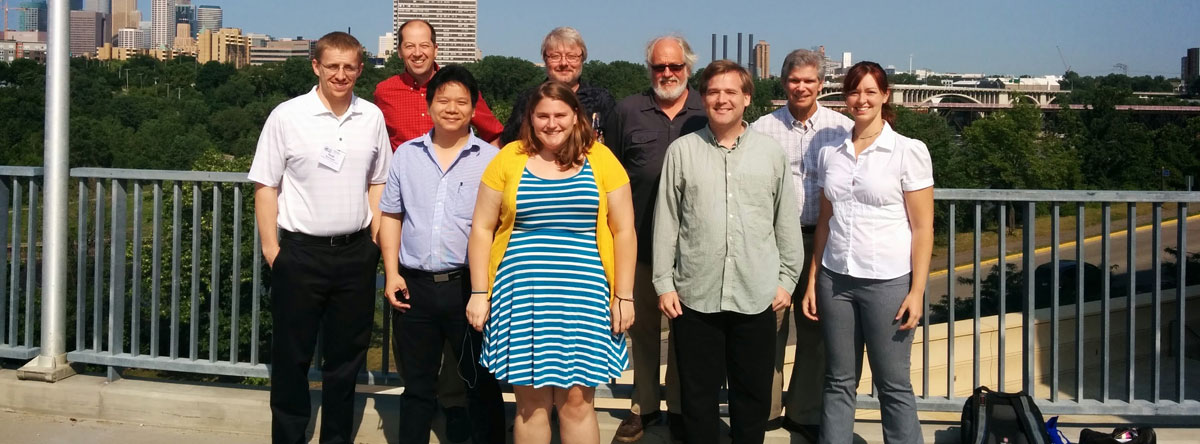 The PER group in Minneapolis, MN at AAPT meeting